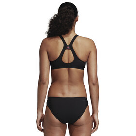 adidas Two-Piece Placed-Print Bikini Women Black/Shock Pink